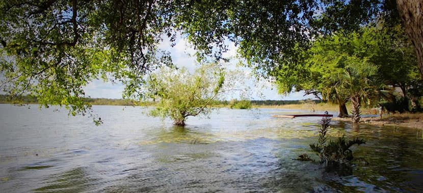 Laguna Ocom Primero, Laguna Ocom, Laguna Carrillo Puerto, Costa Maya