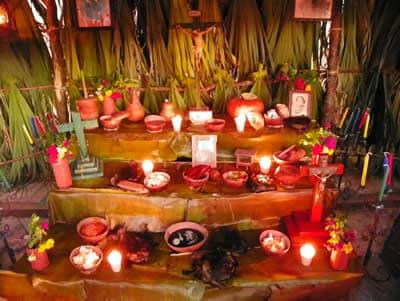 Elementos del altar del hanal pix n for Bazar la iberica