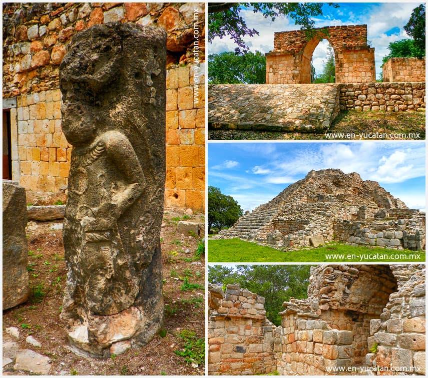 Oxkintok, Ruinas Mayas de Oxkintok, Ruta Puuc