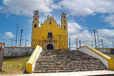 Tecoh Yucatán, Ruta de los Conventos en Yucatán
