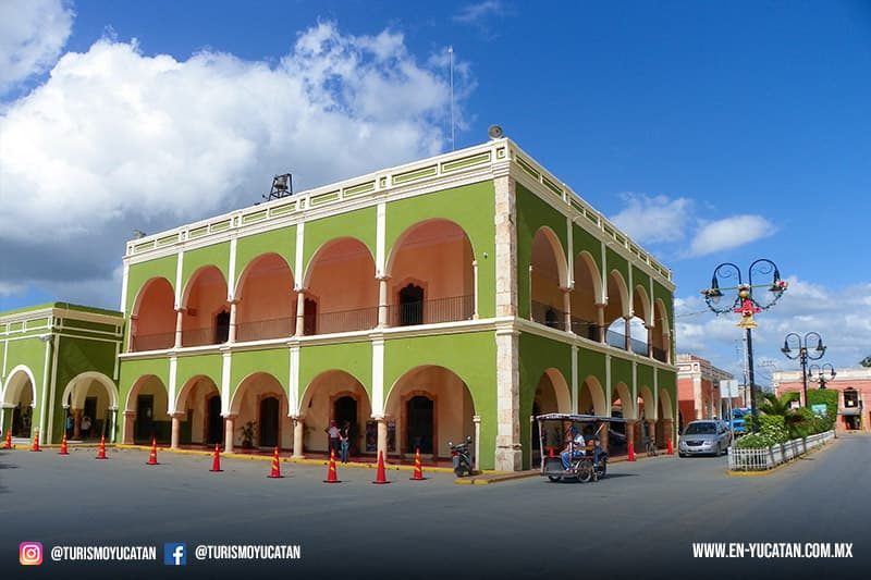 tekax yucatan, iglesia de tekax