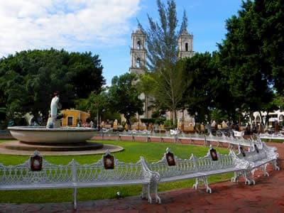 Parque Francisco Cantón Rosado en Valladolid