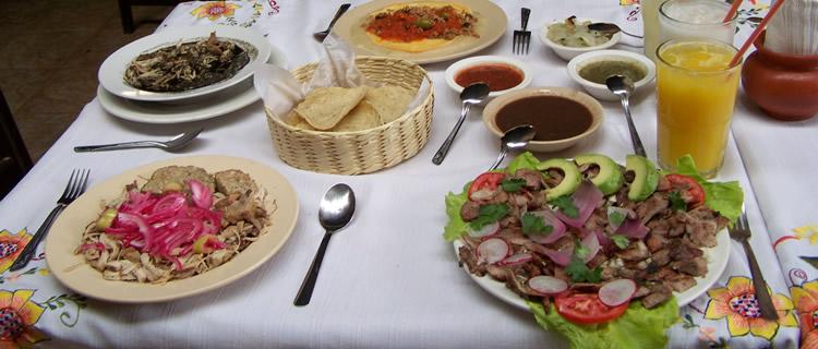 Comida típica de Yucatán